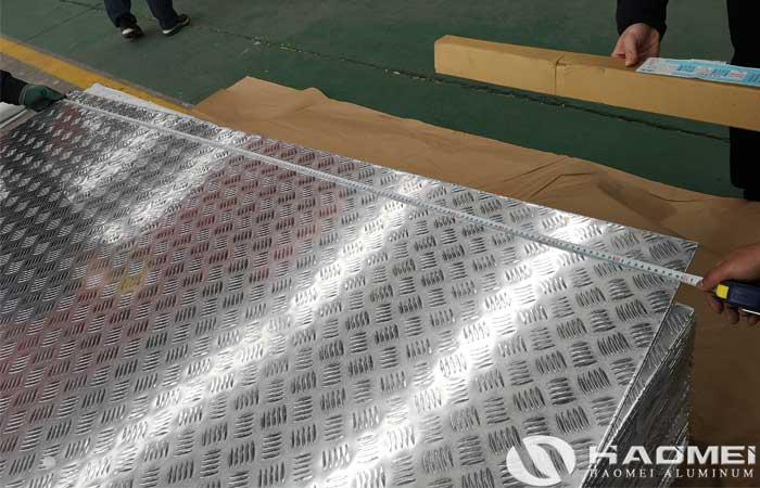 aluminium alloy tread plates